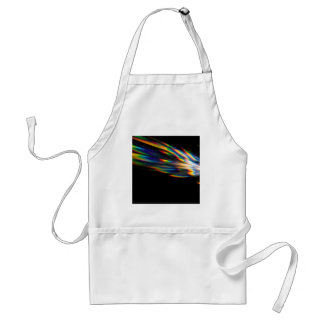 Abstract Crystal Reflect Spike Adult Apron