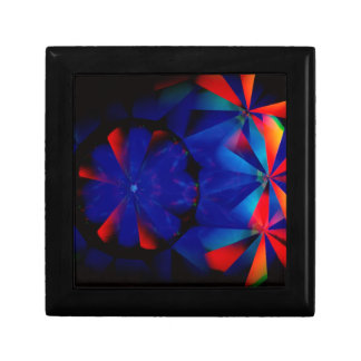 Abstract Crystal Reflect Spooky Jewelry Boxes
