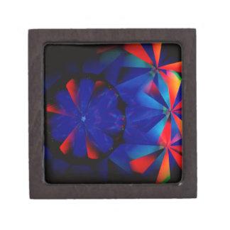 Abstract Crystal Reflect Spooky Premium Keepsake Box