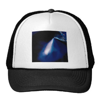 Abstract Crystal Reflect Spotlight Trucker Hat