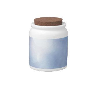 Abstract Crystal Reflect Sugar Flakes Candy Jars
