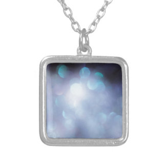 Abstract Crystal Reflect Sugar Flakes Personalized Necklace
