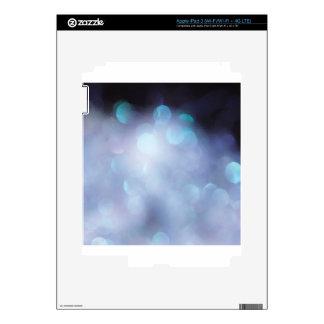 Abstract Crystal Reflect Sugar Flakes iPad 3 Decals