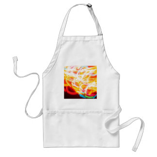 Abstract Crystal Reflect Tangle Adult Apron