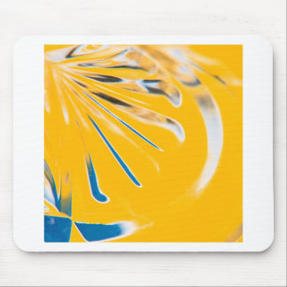 Abstract Crystal Reflect Toast Mousepad