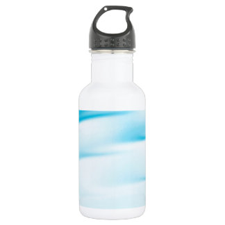 Abstract Crystal Reflect Water Horizon Stainless Steel Water Bottle