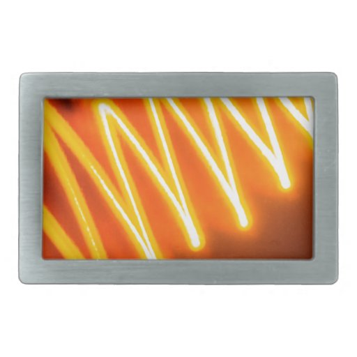 Abstract Crystal Reflect Zigzag Belt Buckle