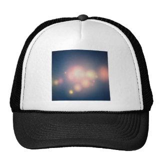 Abstract Crystals Great Balls Of Light Trucker Hat