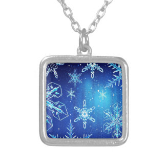 Abstract Crystals Perfect Snow Flakes Jewelry