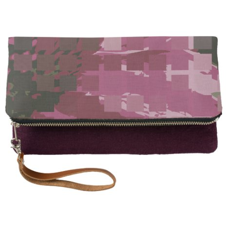 Abstract Cubistic Purple Coneflower © Sandy Long Clutch