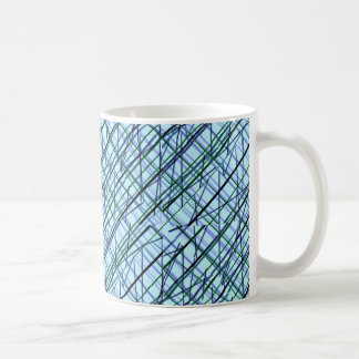 abstract cup #2 classic white coffee mug