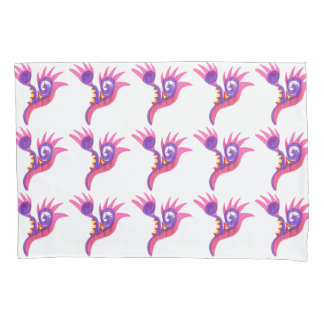 Abstract Curl and Spike Pillow Case