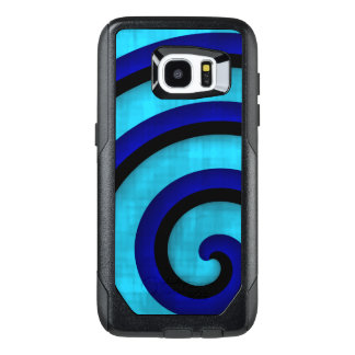 Abstract curl design OtterBox samsung galaxy s7 edge case