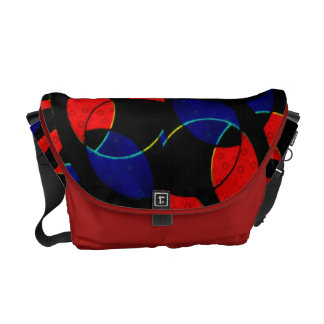 Abstract Curves Bag Messenger Rickshaw