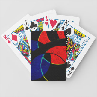 Abstract Curves Bicycle® Playing Cards