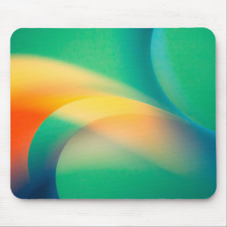 Abstract Curves Mouse Pad