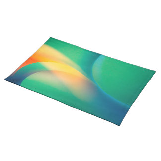 Abstract Curves Placemat