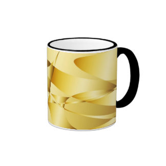 Abstract Curves Ringer Mug