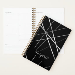 Abstract Custom Name Personalized Planner