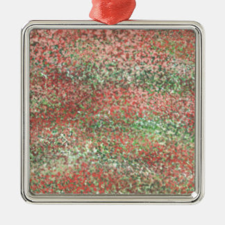 Abstract D Metal Ornament
