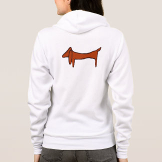 Abstract Dachshund Hoodie