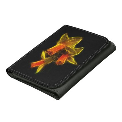 Abstract Daffodil Flowers Wallets