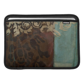 Abstract Damask Tapestry by Jennifer Goldberger MacBook Sleeves