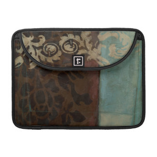 Abstract Damask Tapestry by Jennifer Goldberger Sleeve For MacBooks