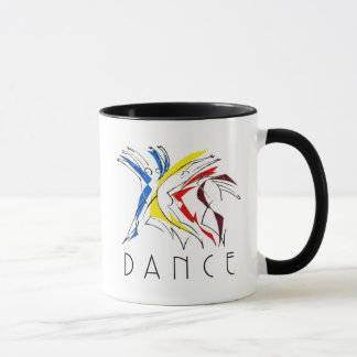 Abstract Dancers Dancing - Dance Lover Artwork Mug