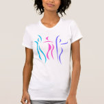 Abstract dancers t-shirt