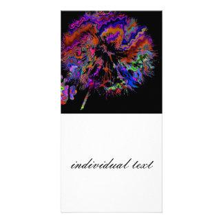abstract dandelion (U) Card