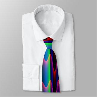 Abstract Dark Neck Tie
