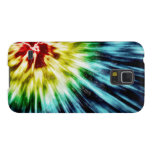 Abstract Dark Tie Dye Cases For Galaxy S5