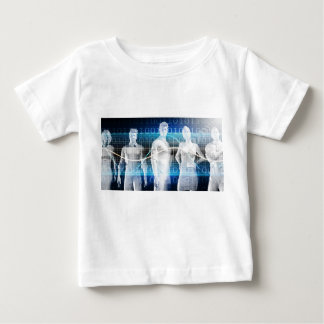 Abstract Data of Population and Key Demographic Baby T-Shirt