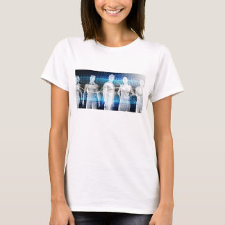 Abstract Data of Population and Key Demographic T-Shirt