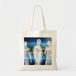 Abstract Data of Population and Key Demographic Tote Bag
