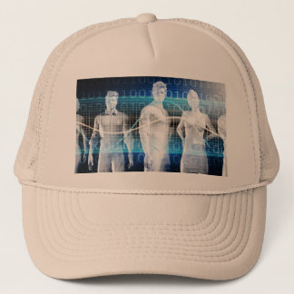 Abstract Data of Population and Key Demographic Trucker Hat