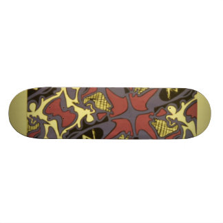 Abstract Deck Design Custom Skateboard