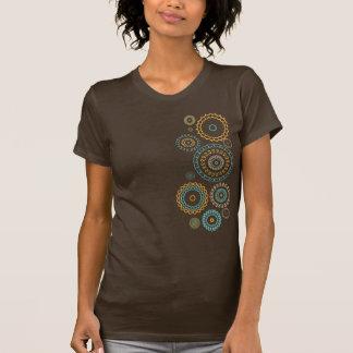 Abstract Deco Circles Tee Shirt