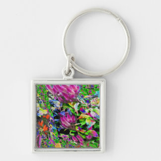 Abstract deco sparkle silken diva return+gifts fun keychain