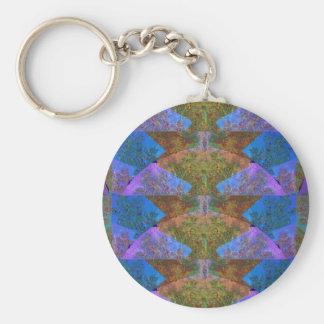 Abstract deco sparkle silken diva return+gifts fun key chain