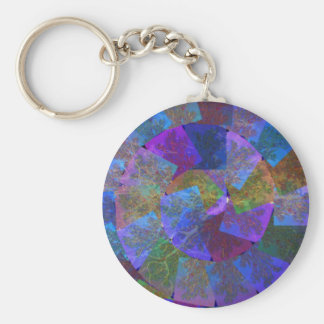 Abstract deco sparkle silken diva return+gifts fun key chains