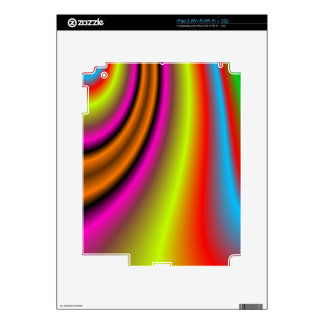 Abstract decorative art decal for the iPad 2