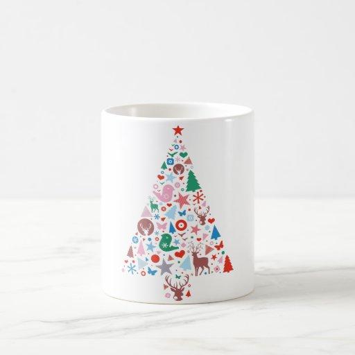 Abstract decorative Christmas tree Coffee Mug
