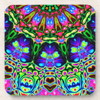 Abstract Decorative Pattern Coaster