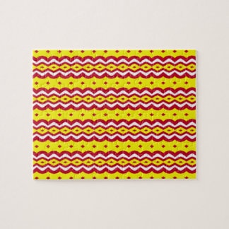 Abstract decorative pattern jigsaw puzzle