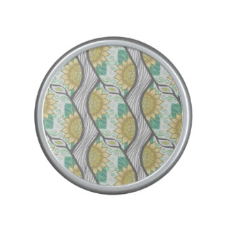 Abstract Decorative Sunflower Personalizable Speaker