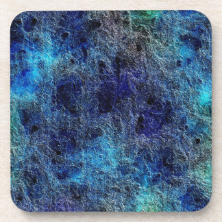 Abstract Deep Rich Jewel Colors Cork Coasters