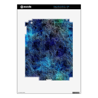 Abstract Deep Rich Jewel Colors iPad 2 Skins