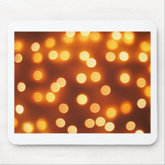 Abstract defocused and blur bokeh of small yellow mouse pad
